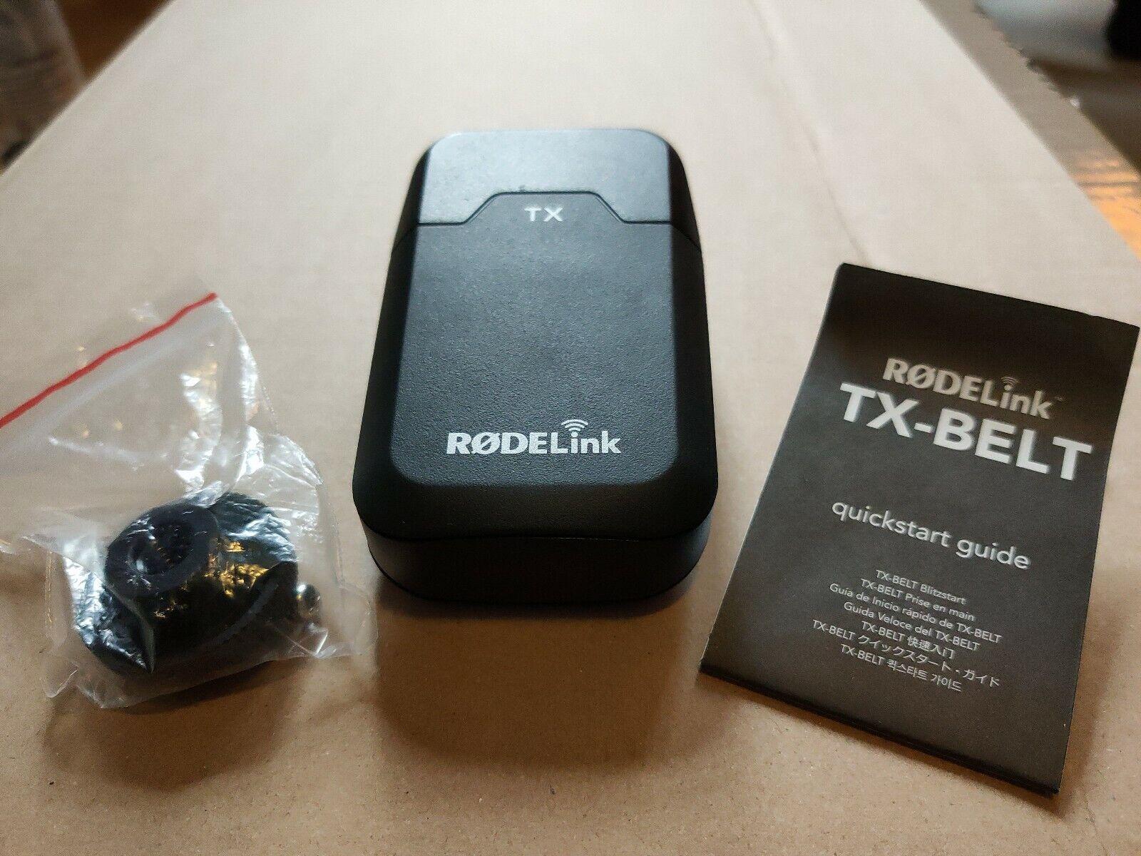 RodeLink TX-Belt (Sender Transmitter) für RodeLink-Geräte und Rode Filmmaker Kit