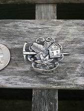 Vintage Oktoberfest Hiking German Bavarian Hat Pin ENGALM