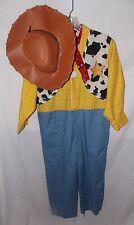 Walt Disney World Toy Story Woody Sheriff Costume Boys L 10 12 Jumpsuit