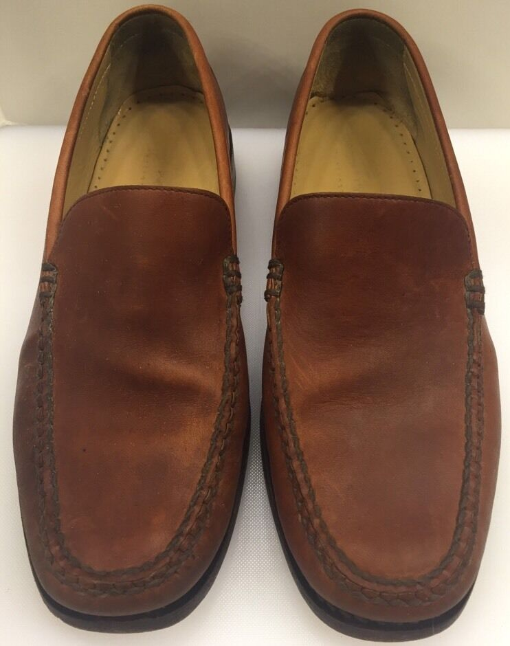 Johnston Murphy Passport Slip On Loafers Made in Mexico Men's 10 M 90 15 4231