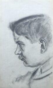 Reinhard-Loeschin-Portraet-eines-jungen-Mannes-Soldat-Portrait-of-a-Man-Soldier
