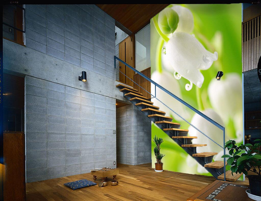3D whitee Narzisse 853 Tapete Wandgemälde Tapete Tapeten Bild Familie DE Summer