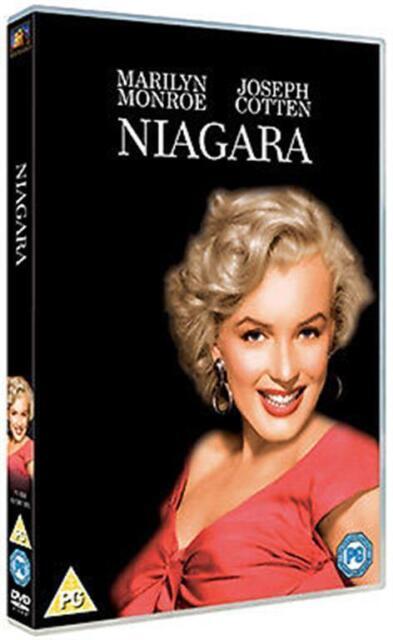 NIAGARA 1953 MARILYN MONROE JOSEPH COTTEN JEAN PETERS FOX UK 2012 REGN 2 DVD NEW
