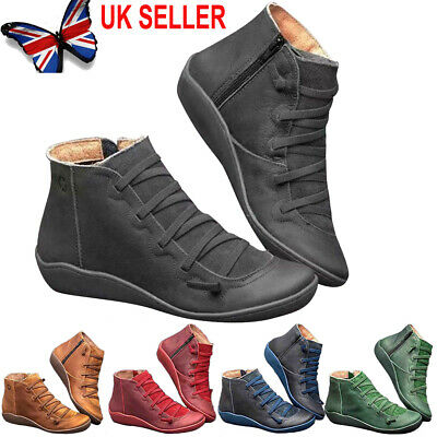 Women's Winter Arch Support Ankle Boots