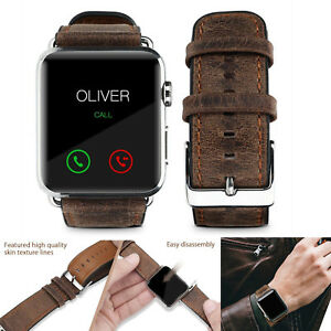 PASBUY-57B-Genuine-Leather-Strap-Band-for-Apple-Watch-Series-4-3-2-42-44mm-Brow