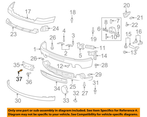 GM OEM Front Bumper-License Bracket Rivet 11516807