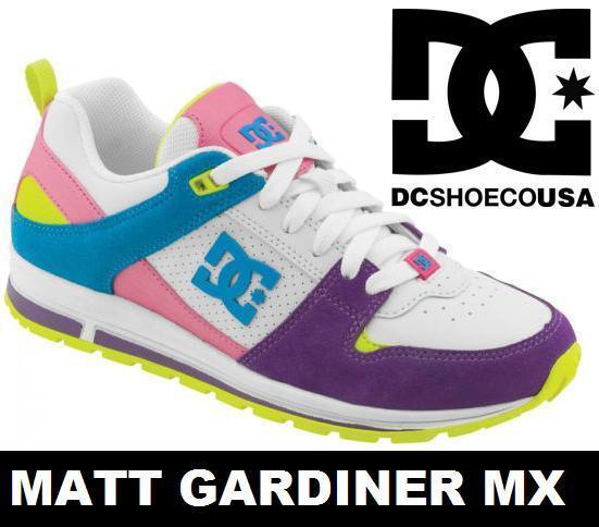 Dc Shoes Para Mujer A-260 Skate formadores Crazy Nuevo Color