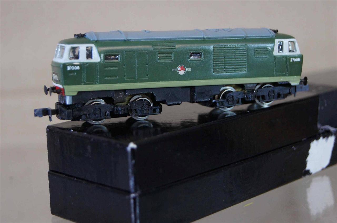 Frosso Hempsall Modelos Arnold Kit Montado Br Clase 35 Hymek Loco D7008 Mz