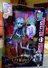 "MONSTER HIGH 13 Wishes Series__TWYLA 9 "" Fashion Doll_Daughter of the Boogey Man"
