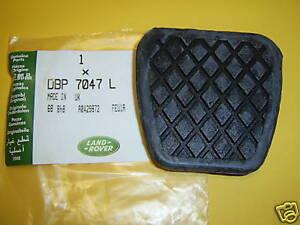 GENUINE LAND ROVER FREELANDER BRAKE or CLUTCH PEDAL PAD DBP7047L