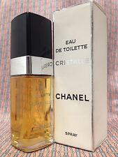 Vintage 1990s Chanel Cristalle 2 oz 60 ml Eau de Toilette - OLD FORMULA - London