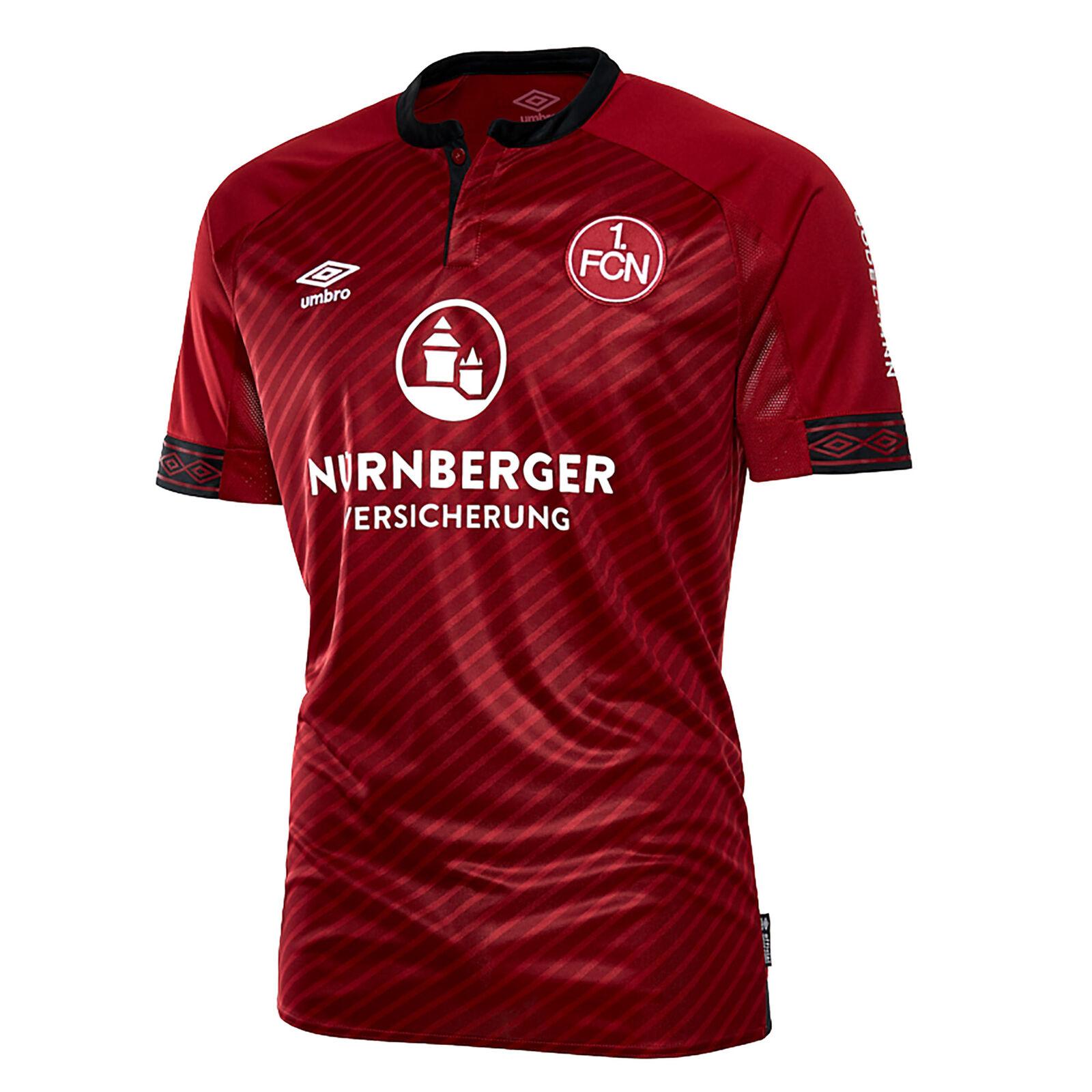 Offiziell FC Nurnberg Heim Shirt Trikot Kurzarm Top 201819 Herren Umbro Fußball