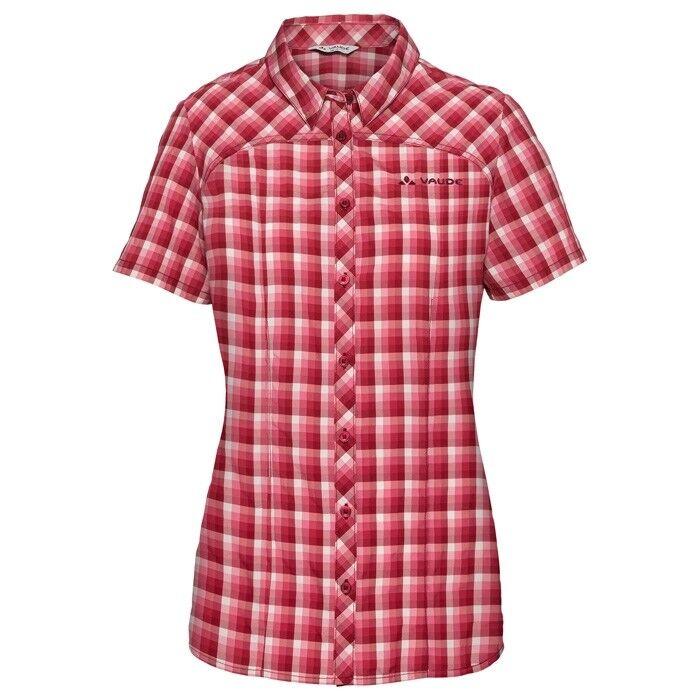 VauDe Tacun Shirt daSie rot cluster