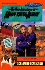 New Adventures of Mary-Kate and Ashley: The Case of the Screaming Scarecrow by Carol Ellis, Mary-Kate Olsen and Ashley Olsen (2001, Paperback)