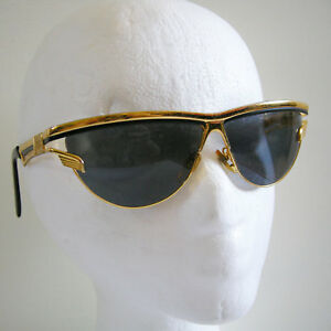 558f6604ad9a6 CHARME Gold Plated Vintage Sunglasses MOD.7510 Col.103 made in Italy ...