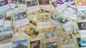 40-Pokemon-TRAINER-card-lot-SUN-and-MOON-assorted-sets-ALL-TOURNAMENT-LEGAL