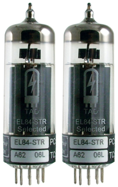 Tube Amp Doctor TAD EL84 Power Vacuum Tube, Matched Pair