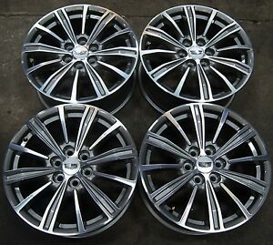 4-Cadillac-XT5-SRX-18-Factory-Machined-amp-Argent-Wheels-Rims-2010-19-Acadia-17-19