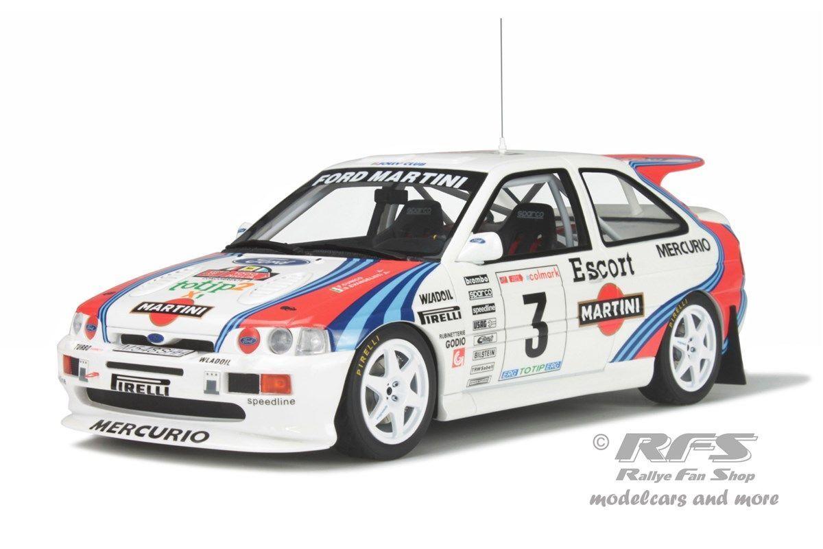 punto de venta barato Ford Escort RS Cosworth Cosworth Cosworth talla a Martini rally 1000 Miglia 1995 1 18 Otto 204  ahorra hasta un 50%