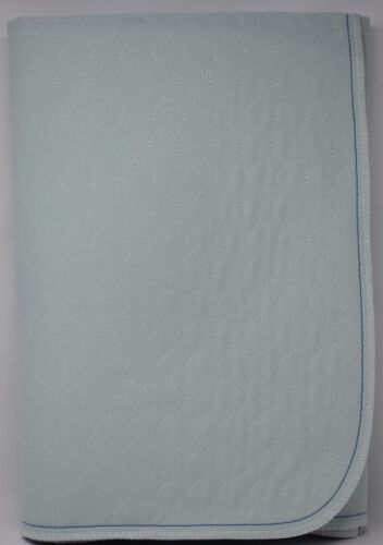 12 Reusable Bed Pad Underpad Arid Care Bonded Washable Blue Green Incontinence