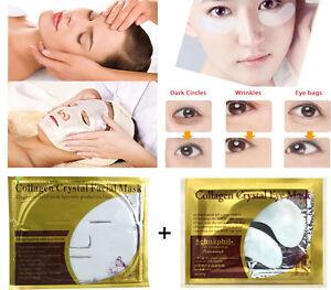 Peau-soins-Essence-masque-Facial-Dark-Circle-Gel-anti-rides-yeux-masque-de-coll
