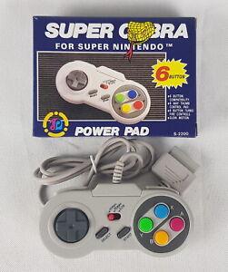 Super-Cobra-Power-Pad-for-Super-Nintendo-SNES-Super-NES-controller-Retro