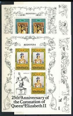 235551 Antigua Klbg Frauen Und Kinder 504-8c** Thronjubiläum Queen Geeignet FüR MäNner