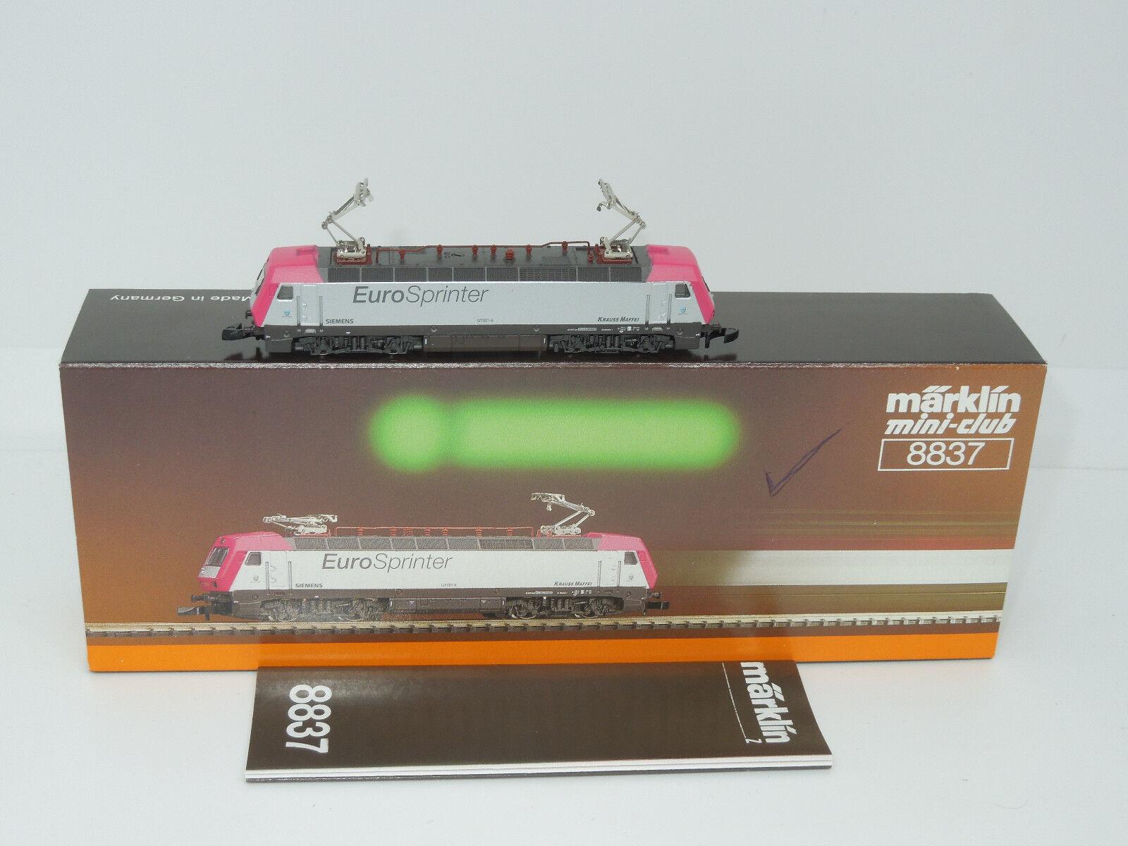 Märklin mini-club 8837 E-Lok BR 127 - Eurosprinter  | Die Qualität Und Die Verbraucher Zunächst
