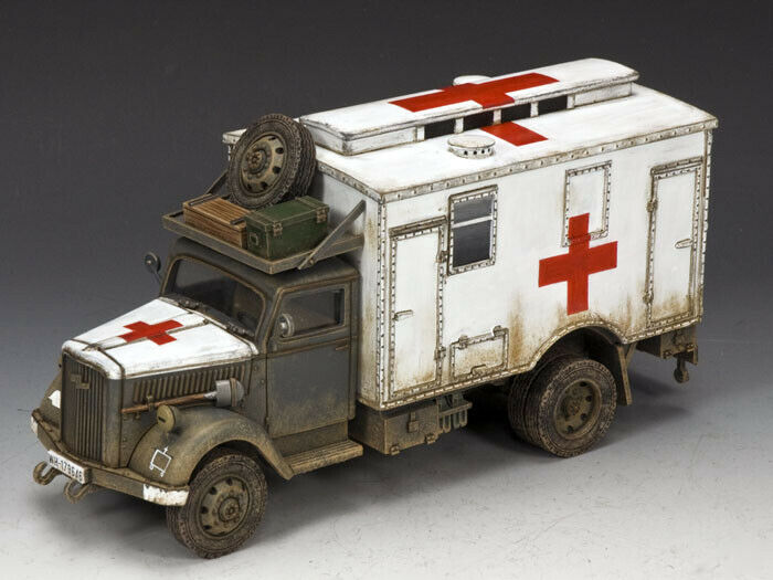 King & Land - WS258 - Opel Blitz Field Ambulance