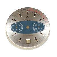 Breitling Zifferblatt Für Chrono-matic Ref. 2110 Cal. 11/12 Farbe Silber/blau