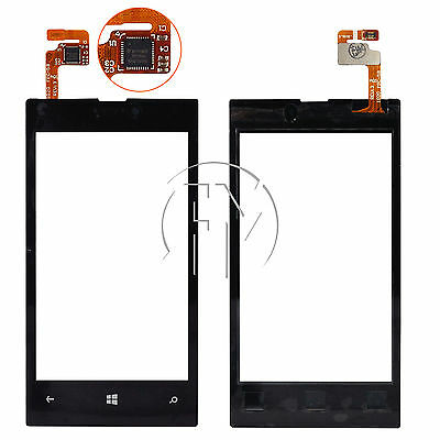 REPLACEMENT LCD SCREEN TOUCH DIGITIZER FRONT GLASS LENS FOR NOKIA LUMIA 520