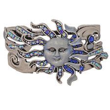 KIRKS FOLLY Sunshine On My Shoulder Cuff Bracelet (Antique Silvertone)
