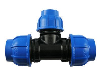 Pe Rohr T-stück Verschraubung Reduziert Trinkwasser Dvgw Klemmverbinder Fitting