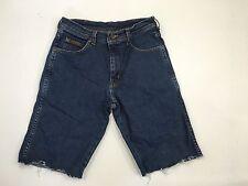 Mens Wrangler Reworked Denim Shorts - W30 - Navy Wash - Great Condition