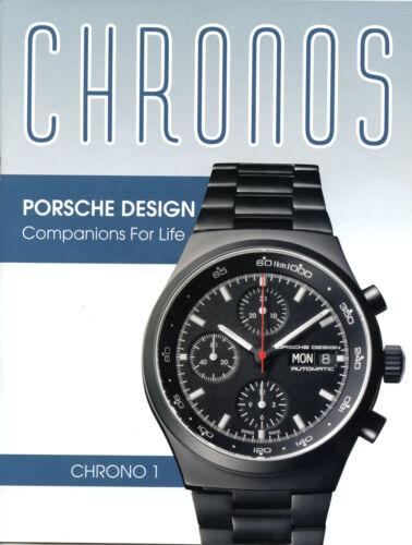 PORSCHE  Design Chronos sales brochure new