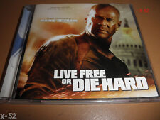 LIVE FREE or DIE HARD 4 soundtrack CD score MARCO BELTRAMI bruce willis ost