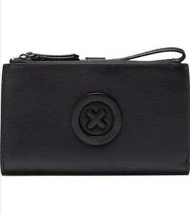 MIMCO-Wallet-Black-Leather-Super-Duo-Large-BNWT-RRP-199-Phone-Case-Pouch-Bag
