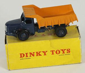 DINKY-TOYS-MODELE-34A-BENE-BERLIET-CARRIERES-BOITE-D-039-ORIGINE-1950-A-1960