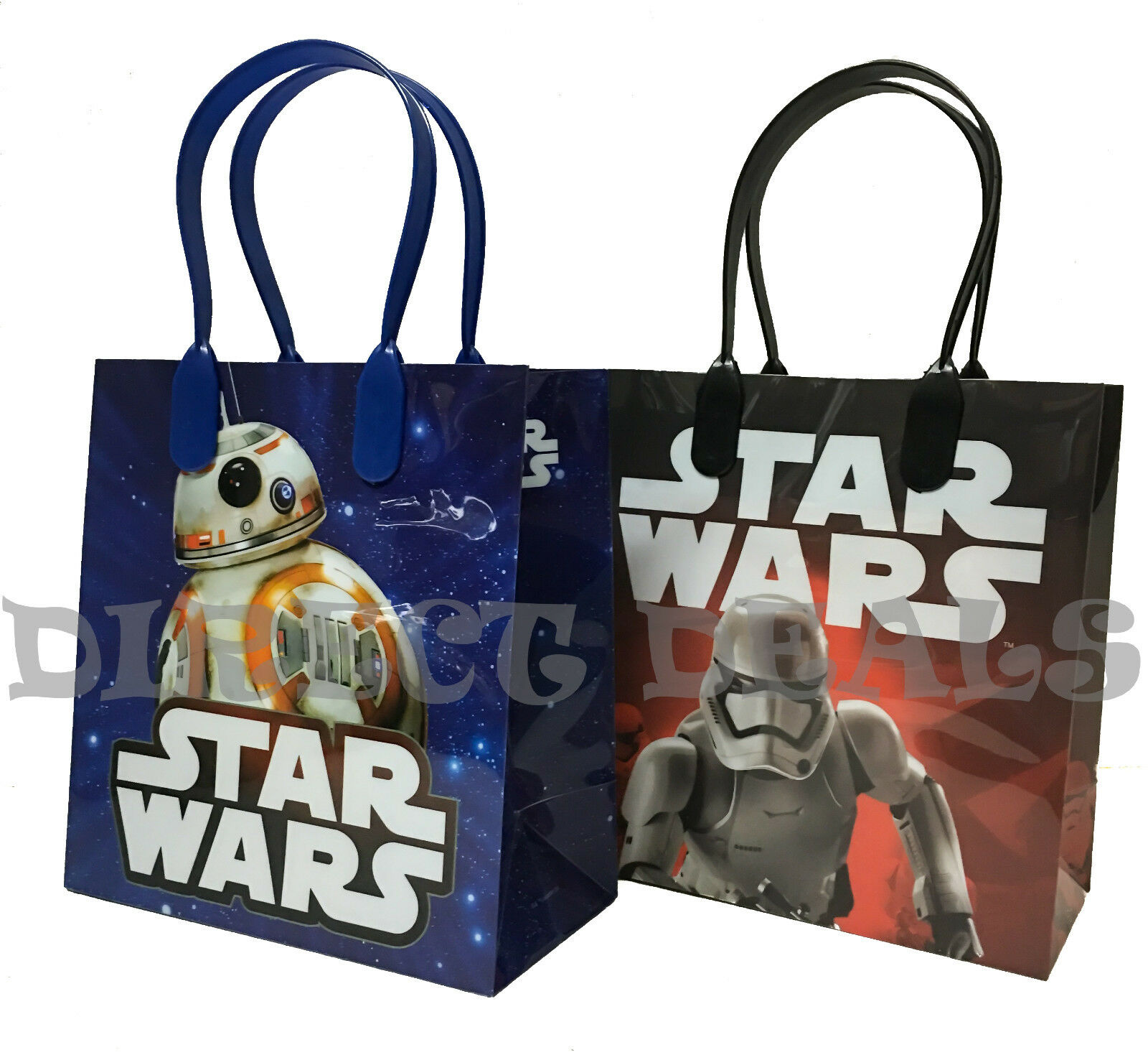 Details About Star Wars Party Favors Gift Bags 20 PC Storm Troopers Birthday Treat Toy Bag