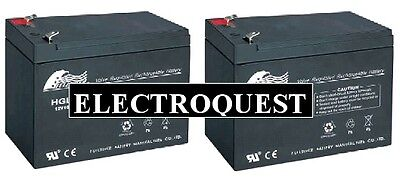 2 X 12v 9ah 'high Rate' Batteries Other Cycling Oset Spider 12.5 Electric Mini Trials Bike Smoothing Circulation And Stopping Pains