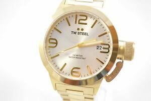 TW-Steel-CB81-Canteen-Silver-Dial-Yellow-Gold-Stainless-Steel-Watch
