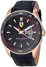 Ferrari Scuderia Gran Premio Leather Mens Watch 0830185