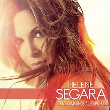 Hélène SEGARA - Tout commence aujourd'hui - CD 13 titres - Duo Biagio Antonacci