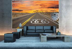 Usa Wahrzeichen Route 66 Wohnzimmer Wanddekoration Mother Road