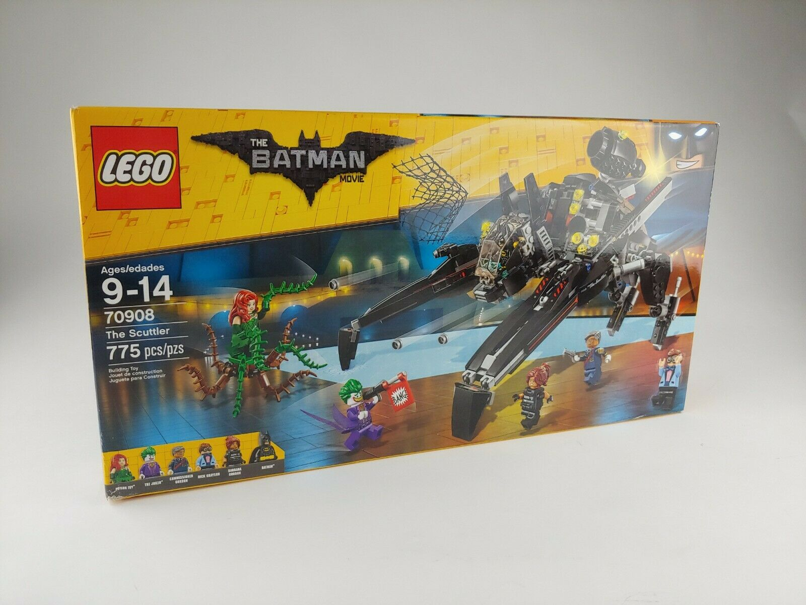 Lego The Batman Movie 70908 The Scuttler Batman Minifigure Free Shipping No Box