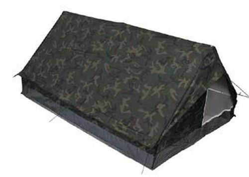 2-Mann Zelt Minipack Bundeswehr BW woodland Armeezelt Camping nach TL NEU