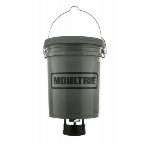 Moultrie Standard Digitaler Wildfutterautomat mit 18,5 Liter Kunststoffeimer.