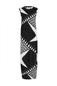 Sass Bide Like That Trees Knit Maxi Dress Black Ivory W Sequins Xxs 225 Nwt 9332809699538 Ebay