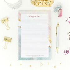 Todays To Dos Pad 6 X 9 Day Planner Daily Planning Pad 80 Sheets Per Pad