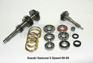 suzuki samurai 86-95 5 sp manual transmission rebuild kit input